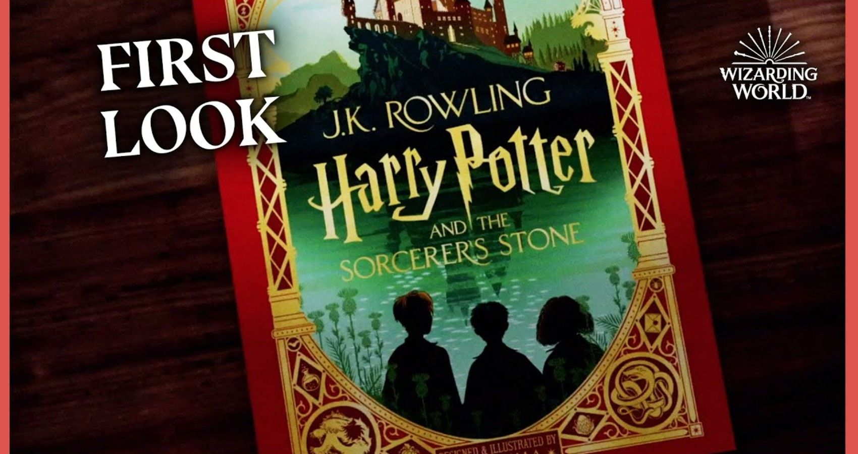 A Fully Illustrated Version Of 'Harry Potter' Is Hitting Shelves Soon