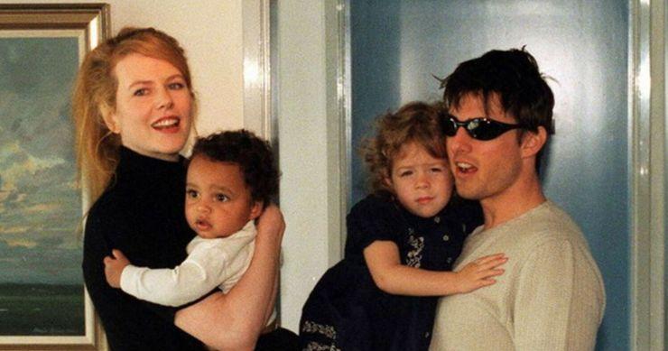 Nicole Kidman, Tom Cruise en hun 2 geadopteerde kinderen