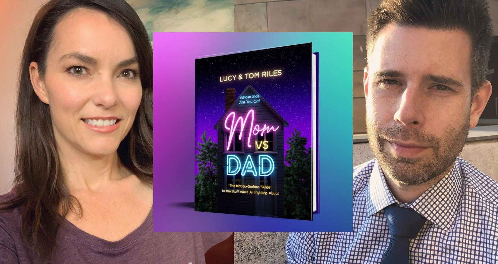 """Here's A Book You May Want To Read: """"Mom VS. Dad"""""""