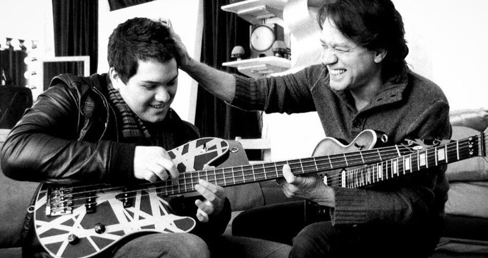 Eddie Van Halen's Son Shares Sweet Throwback Picture Days Following His Dad's Passing
