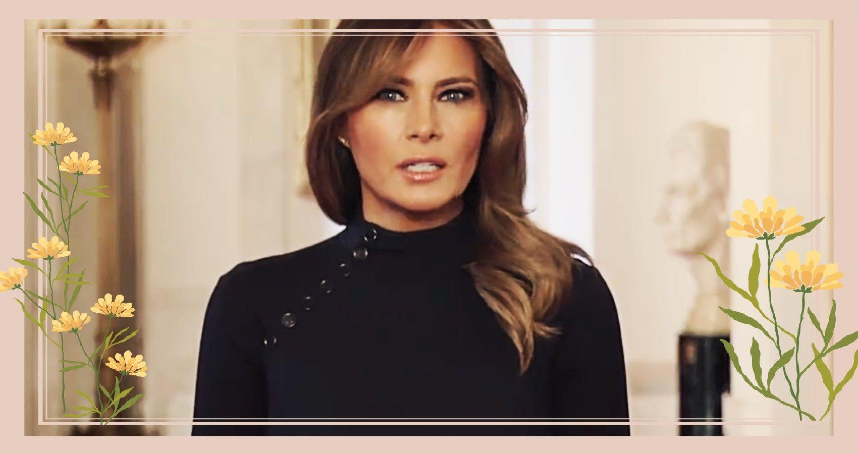 Melania Trump Reveals Barron Is Now Negative For COVID | Moms.com