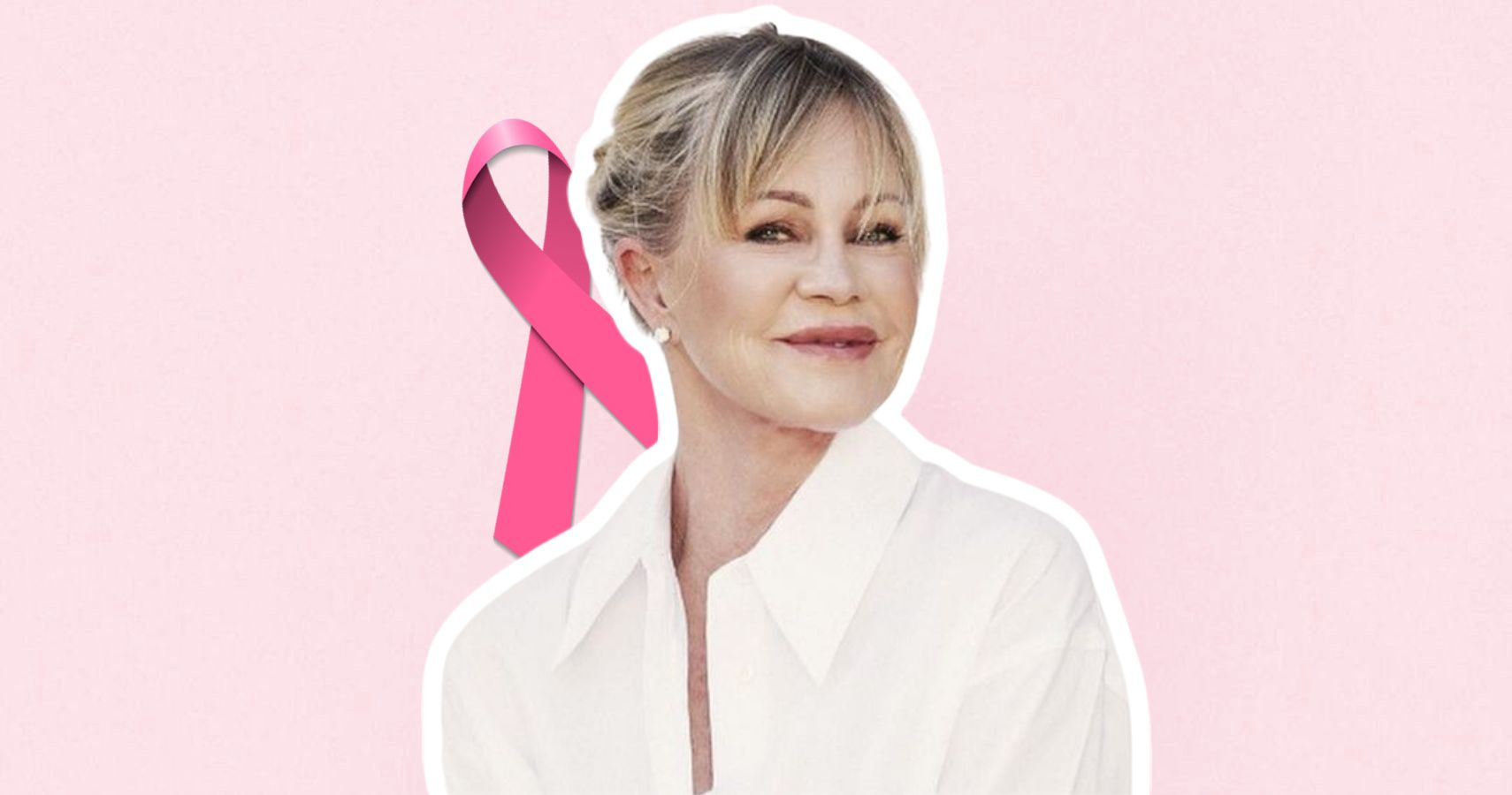 63-Year-Old Actress Melanie Griffith Posts Fit Pics For Breast Cancer Awareness