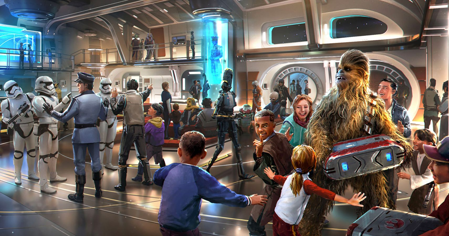 An Interactive 'Star Wars' Hotel Is Coming To Disney World Next Year
