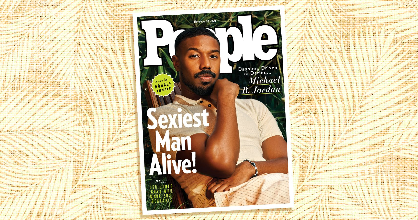 Michael B. Jordan Named PEOPLE's Sexiest Man Alive! | Moms.com